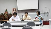 กองบริหารงานบุคคล ประชุมปรึกษาหารือการอยู่ร่วมกันในบ้านพักอาศัยสวัสดิการ ศูนย์รังสิต ในวันที่ 28 มิถุนายน 2555 ณ ห้องประชุม ชั้น 3 สำนักงานคณบดี ศูนย์รังสิต เพื่อให้การอยู่ร่วมกันในบ้านพักสวัสดิการเป็นไปด้วยความเรียบร้อยและเป็นไปตามข้อบังคับ คณะกรรมการสวัสดิการข้าราชการ ว่าด้วยการเข้าพักอาศัยบ้านพักสวัสดิการมหาวิทยาลัยเทคโนโลยีราชมงคลธัญบุรี และเพื่อเป็นการรวบรวมความคิดเห็นของผู้พักอาศัยบ้านพักสวัสดิการ นำเสนอคณะกรรมการสวัสดิการข้าราชการ เพื่อปรับปรุงการดำเนินงานให้ดีกว่าที่เป็นอยู่ในปัจจุบัน