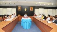 รศ.ดร.นำยุทธ สงค์ธนาพิทักษ์ อธิการบดีมหาวิทยาลัยเทคโนโลยีราชมงคล(มทร.)ธัญบุรี เข้าร่วมฟังการสรุปผลการตรวจประเมินคุณภาพภายใน (สำนักงานอธิการบดี) ประจำปีการศึกษา 2554 โดยมี นายเทวินทร์ จันทรศักดิ์ ผู้อำนวยการศูนย์ประกันคุณภาพการศึกษา มหาวิทยาลัยเทคโนโลยีพระจอมเกล้าพระนครเหนือ เป็นประธานการตรวจประเมิน ณ ห้องประชุมมังคลอุบล มทร.ธัญบุรี