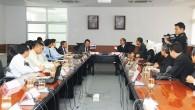 รศ.ดร.นำยุทธ สงค์ธนาพิทักษ์ อธิการบดี มหาวิทยาลัยเทคโนโลยีราชมงคล(มทร.)ธัญบุรี ลงนามความร่วมมือกับ Dian Nuswantora University ประเทศอินโดนีเซีย เกี่ยวกับการแลกเปลี่ยนนักศึกษาและอาจารย์ ณ ห้องประชุมรัตอุบล มทร.ธัญบุรี