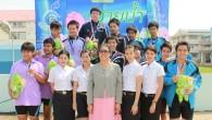 ภาพย้อนหลัง : กีฬาว่ายน้ำ วันที่ 6 กุมภาพันธ์ 2556 ถ่ายโดย : อาสาสมัคร (นักศึกษา มทร.ธัญบุรี) น้องก้อง สุรกิจ นาโถ จัดทำอัลบั้มภาพโดย : งานพัฒนาและเผยแพร่ข้อมูลเว็บไซต์ สำนักวิทยบริการและเทคโนโลยีสารสนเทศ มทร.ธัญบุรี