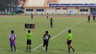 ภาพการแข่งขันกีฬาฟุตบอล ถ่ายโดย : อาสาสมัคร (นักศึกษา มทร.ธัญบุรี) น้องโอ๊ต พัชรพล ก้องเพชรศักดิ์ ถ่ายเมื่อวันที่ 2 กุมภาพันธ์ 2556 จัดทำอัลบั้มภาพโดย : งานพัฒนาและเผยแพร่ข้อมูลเว็บไซต์ สำนักวิทยบริการและเทคโนโลยีสารสนเทศ มทร.ธัญบุรี