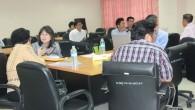 ประชุมคณะกรรมการออกข้อสอบคัดเลือกเข้าศึกษา ระดับปริญญาตรี(สอบตรงคุณวุฒิ ม.6-ปวช.-ปวส.) ประจำปีการศึกษา 2556 เมื่อวันที่ 21 กุมภาพันธ์ 2556
