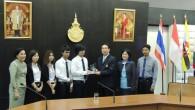 นักศึกษาคณะวิทยาศาสตร์และเทคโนโลยี ได้รับรางวัลจากโครงการอบรมเพื่อเสริมสร้างทักษะงานวิจัยและประกวดงานวิจัยของนักศึกษา มหาวิทยาลัยเทคโนโลยีราชมงคลธัญบุรี (3rd Student Invention Campus) ระหว่างวันที่ 6 – 8 กุมภาพันธ์ 2556 โดยอธิการบดีเป็นผู้มอบรางวัลดังกล่าว ณ ห้องประชุมรินลอุบล ชั้น 1 อาคารเฉลิมพระเกียรติ 48 พระชันษา สมเด็จพระเทพรัตนราชสุดาฯ สยามบรมราชกุมารี มหาวิทยาลัยเทคโนโลยีราชมงคลธัญบุรี