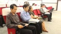 คณะวิทยาศาสตร์และเทคโนโลยี จัดโครงการอบรมเชิงปฏิบัติการการจัดการองค์ความรู้ (Knowledge Management : KM) เมื่อวันอังคารที่ 26 มีนาคม 2556 ณ ห้องประชุม 1306 ห้องประชุม 1307 และห้องประชุมคณบดี คณะวิทยาศาสตร์และเทคโนโลยี มทร.ธัญบุรี เพื่อเป็นการถ่ายทอดความรู้เกี่ยวกับการรวบรวมองค์ความรู้ืด้านต่างๆ ได้แก่ การเรียนการสอน การบริการวิชาการ และการบริหารงานภายในคณะฯ มาพัฒนาให้เป็นองค์ความรู้ เพื่อนำไปประยุกต์ใช้ในการปฏิบัติงานในคณะฯ