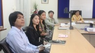 คณะวิทยาศาสตร์และเทคโนโลยีได้ต้อนรับ Professor จากญี่ปุ่น ซึ่งมาปรึกษาหารือเรื่องความร่วมมือของสาขาวิชาชีววิทยา เมื่อวันที่ 8 มีนาคม 2556 ที่ผ่านมา ณ ห้องประชุมคณบดี คณะวิทยาศาสตร์และเทคโนโลยี  ภาพถ่ายโดย : คณะวิทยาศาสตร์และเทคโนโลยี จัดทำอัลบั้มภาพโดย : งานพัฒนาและเผยแพร่ข้อมูลเว็บไซต์ สำนักวิทยบริการและเทคโนโลยีสารสนเทศ มทร.ธัญบุรี