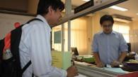 ภาพบรรยากาศการเลือกตั้งกรรมการประจำคณะ ประเภทผู้แทนคณาจารย์ เืมื่อวันพุธที่ 20 กุมภาพันธ์ 2556