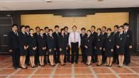 รศ.ดร.นำยุทธ สงค์ธนาพิทักษ์ อธิการบดีมหาวิทยาลัยเทคโนโลยีราชมงคล(มทร.)ธัญบุรี เป็นประธานในพิธีเปิดการประชุมสมัยสามัญ ประจำปีการศึกษา 2556 ของสภานักศึกษา องค์การนักศึกษา และชมรมในสังกัดองค์การนักศึกษา เมื่อวันที่ 18 พฤาภาคม 2556 ณ ห้องประชุมมังคลอุบล มทร.ธัญบุรี  ภาพถ่ายโดย : กองประชาสัมพันธ์ จัดทำอัลบั้มภาพโดย : งานพัฒนาและเผยแพร่ข้อมูลเว็บไซต์ สำนักวิทยบริการและเทคโนโลยีสารสนเทศ มทร.ธัญบุรี