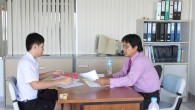 การสอบสัมภาษณ์เข้าศึกษาระดับปริญญาตรี ในระบบ (Admissions กลาง) ประจำปีการศึกษา 2556 ของนักศึกษาคณะเทคโนโลยีการเกษตร มหาวิทยาลัยเทคโนโลยีราชมงคลธัญบุรี เมื่อวันที่ 16 พฤษภาคม 2556 ณ ห้องประชุมชั้น 8 อาคารเทคโนโลยีการเกษตร(คลองหก)  ภาพถ่ายโดย : คณะเทคโนโลยีการเกษตร จัดทำอัลบั้มภาพโดย : งานพัฒนาและเผยแพร่ข้อมูลเว็บไซต์ สำนักวิทยบริการและเทคโนโลยีสารสนเทศ มทร.ธัญบุรี