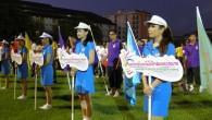 """ภาพการแข่งขันกีฬาบุคลากรคณะกรรมการการอุดมศึกษา ครั้งที่ 32 """"บางแสนเกมส์"""" ซึ่งจัดขึ้นเมื่อวันที่ 1-8 พฤษภาคม 2556 ณ มหาวิทยาลัยบูรพา จังหวัดชลบุรี"""