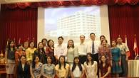 คณาจารย์ และเจ้าหน้าที่ คณะวิทยาศาสตร์และเทคโนโลยี เข้าร่วมโครงการอบรมเชิงปฏิบัติการการจัดการองค์ความรู้ (Knowledge Management : KM) (ระยะที่ 4) เมื่อวันจันทร์ที่ 20 พฤษภาคม พ.ศ. 2556 ณ ห้องประชุมวิทยบงกช ห้องประชุม SC1306 คณะวิทยาศาสตร์และเทคโนโลยี เพื่อเป็นการถ่ายทอดความรู้เกี่ยวกับการรวบรวมองค์ความรู้ด้านต่างๆ ได้แก่ การเรียนการสอน การบริการวิชาการ และการบริหารงาน มาพัฒนาให้เป็นองค์ความรู้ เพื่อนำไปประยุกต์ใช้ในการปฏิบัติงานภายในคณะฯ ต่อไป  ภาพถ่ายโดย […]