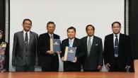 รศ.ดร.ประเสริฐ ปิ่นปฐมรัฐ อธิการบดี มหาวิทยาลัยเทคโนโลยีราชมงคล(มทร.)ธัญบุรี ลงนามความร่วมมือทางวิชาการกับ Yogyakarta State University ประเทศอินโดนีเซีย เพื่อประโยชน์ทางการศึกษาร่วมกัน ณ ห้องประชุมมังคลอุบล มทร.ธัญบุรี  ภาพถ่ายโดย : กองประชาสัมพันธ์ จัดทำอัลบั้มภาพโดย : งานพัฒนาและเผยแพร่ข้อมูลเว็บไซต์ สำนักวิทยบริการและเทคโนโลยีสารสนเทศ มทร.ธัญบุรี