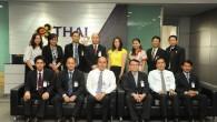 ผู้บริหารมหาวิทยาลัยเทคโนโลยีราชมงคล(มทร.)ธัญบุรี เข้าหารือกับผู้บริหารบริษัท การบินไทย จำกัด (มหาชน) เกี่ยวกับการจัดทำความร่วมมือในการส่งนักศึกษาเข้าฝึกงาน ณ อาคารศูนย์ปฏิบัติการการบินไทย จ.สมุทรปราการ  ภาพถ่ายโดย : กองประชาสัมพันธ์ มหาวิทยาลัยเทคโนโลยีราชมงคลธัญบุรี จัดทำอัลบั้มภาพโดย : งานพัฒนาและเผยแพร่ข้อมูลเว็บไซต์ สำนักวิทยบริการและเทคโนโลยีสารสนเทศ มทร.ธัญบุรี