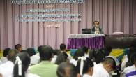 ดร.วิชัย พยัคฆโส รองอธิการบดีมหาวิทยาลัยเทคโนโลยีราชมงคล(มทร.)ธัญบุรี เป็นประธานในการปฐมนิเทศนักเรียนในโครงการความร่วมมือระหว่าง มทร.ธัญบุรี สำนักงานเขตพื้นที่การศึกษามัธยมศึกษาปทุมธานีเขต 4 และสำนักงานเขตพื้นที่การศึกษาประถมศึกษาปทุมธานีเขต 2 ณ ห้องประชุมคณะครุศาสตร์อุตสาหกรรม มทร.ธัญบุรี  ภาพถ่ายโดย : กองประชาสัมพันธ์ มหาวิทยาลัยเทคโนโลยีราชมงคลธัญบุรี จัดทำอัลบั้มภาพโดย : งานพัฒนาและเผยแพร่ข้อมูลเว็บไซต์ สำนักวิทยบริการและเทคโนโลยีสารสนเทศ มทร.ธัญบุรี