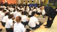 รศ.ดร.ประเสริฐ ปิ่นปฐมรัฐ อธิการบดีมหาวิทยาลัยเทคโนโลยีราชมงคล(มทร.)ธัญบุรี เป็นประธานในพิธีเปิดงานปฐมนิเทศนักศึกษาใหม่ ประจำปีการศึกษา ๒๕๕๗ พร้อมกับพูดคุย ทักทายนักศึกษาอย่างเป็นกันเอง ณ หอประชุม มทร.ธัญบุรี วันที่ 29 กรกฎาคม 2557  ภาพถ่ายโดย : กองประชาสัมพันธ์ มหาวิทยาลัยเทคโนโลยีราชมงคลธัญบุรี จัดทำอัลบั้มภาพโดย : งานพัฒนาและเผยแพร่ข้อมูลเว็บไซต์ สำนักวิทยบริการและเทคโนโลยีสารสนเทศ มทร.ธัญบุรี