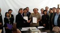 ดร.จรัญ ลิขิตรัตนพร รองคณบดีฝ่ายวิชาการและวิจัย เข้าร่วมประชุมสภาคณบดีสาขาการเกษตรแห่งประเทศไทย ครั้งที่ 5/2557 ณ มหาวิทยาลัยพะเยา และเข้าร่วมลงนามความร่วมมือระหว่าง (MOU) ระหว่าง สภาคณบดีสาขาการเกษตรแห่งประเทศไทย และคณะเกษตรศาสตร์ มหาวิทยาลัยสุภานุวงศ์ และวิทยาลัยกสิกรรมและป่าไม้ภาคเหนือ หลวงพระบาง สาธารณรัฐประชาธิปไตยประชาชนลาว เมื่อวันที่ 31 ตุลาคม – 3 พฤศจิกายน 2557  ภาพถ่ายโดย : คณะเทคโนโลยีการเกษตร มหาวิทยาลัยเทคโนโลยีราชมงคลธัญบุรี จัดทำอัลบั้มภาพโดย...