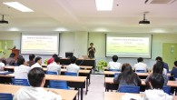 """สาขาวิชาวิทยาการคอมพิวเตอร์ คณะวิทยาศาสตร์และเทคโนโลยี มทร.ธัญบุรี จัดโครงการสัมมนา หัวข้อ Thailand Game Industry """"อุตสาหกรรมเกมไทย"""" โดยมีนายสรวิชญ์ โมกขาว (พี่เรียว) Game developer เป็นวิทยากรบรรยาย เมื่อวันที่ 7 เมษายน 2558 ณ ห้อง 8-06 อาคารเรียนรวมและปฏิบัติการ (รป 13 ชั้น) ในการนี้ อาจารย์นงลักษณ์ พรมทอง ให้เกียรติเป็นประธานกล่าวเปิดงาน […]"""
