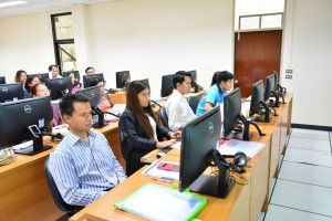 ภาพบรรยากาศอบรมโครงการพัฒนาเว็บบล็อกและเว็บไซต์ส่วนบุคคล 26-28 สิงหาคม 2558