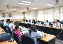 ประชุมเรื่อง เครื่องมือวัดและการประเมินสมรรถนะตามที่กำหนดในหลักสูตรของแต่ละสาขาวิชา  วันที่ 27 มิ.ย. 2559