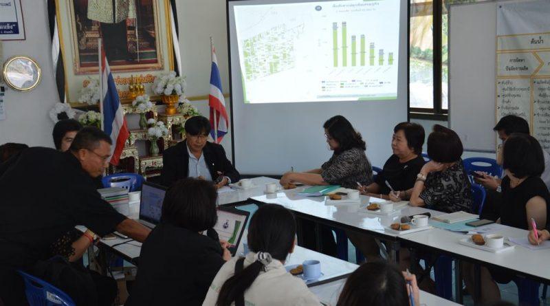 เข้าร่วมประชุมคณะอนุกรรมการดำเนิน โครงการ อพ.สธ.มทร.ธัญบุรี วันอังคาร ที่ 7 กุมภาพันธ์ 2560