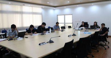 สำนักประกันคุณภาพการศึกษา มทร.ธัญบุรี จัดโครงการพัฒนาระบบและกลไกเพื่อยกระดับคุณภาพการศึกษาภายใน ระดับหลักสูตร เมื่อวันที่ 8 พ.ค. 2560
