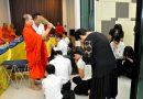 รศ.ดร.ประเสริฐ  ปิ่นปฐมรัฐ เป็นประธานในพิธีทำบุญเลี้ยงพระเพล เมื่อวันที่ 31 กรกฏาคม 2560