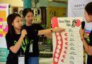 การนำเสนอ โครงการอบรมเชิงปฏิบัติการ ASEAN Youth in Action เมื่อวันที่ 19 กันยายน 2560