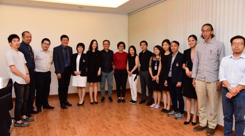 ต้อนรับคณะผู้บริหารจาก Singapore Polytechnic ประเทศสิงคโปร์ เมื่อวันที่ 11 ตุลาคม 2560