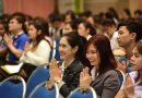 """ภาพบรรยากาศ พิธีเปิดโครงการอบรมนักศึกษากองทุนเงินให้กู้ยืมเพื่อการศึกษาเพื่อเสริมสร้าง """"บัณฑิตไทยโตไปไม่โกง""""  วันที่ 08 กุมภาพันธ์ 2561"""
