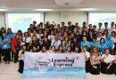 """รศ.ดร.ณฐา  คุปตัษเฐียร  ผู้ช่วยอธิการบดีฯ  เป็นประธานเปิดโครงการ """"Learning Express"""" 26 มี.ค. 2561"""