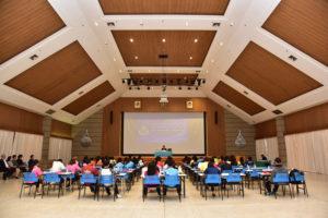 นายวิรัช โหตระไวศยะ , รักษาราชการแทนอธิการบดี มทร.ธัญบุรี, เปิดโครงการอบรมเชิงปฏิบัติการผู้นำนักศึกษาในการจัดกิจกรรมปฐมนิเทศ และกิจกรรมมหาวิทยาลัย ,ห้องประชุมสงค์ธนาพิทักษ์ ,มทร.ธัญบุรี