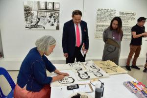 Artist Residency Project,หอศิลป์ศิลปกรรม, คณะศิลปกรรมศาสตร์