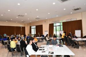 นายวิรัช โหตระไวศยะ รักษาราชการแทนอธิการบดี มทร.ธัญบุรี เปิดโครงการส่งเสริมศักยภาพผู้บริหาร มทร.ธัญบุรี Module III : Building and effective leader