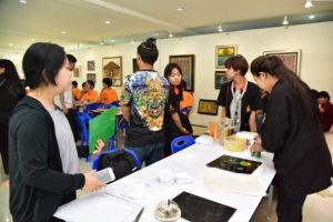 ผศ.ดร.สมหมาย ผิวสอาด รองอธิการบดี มทร.ธัญบุรี เปิดโครงการแลกเปลี่ยนเรียนรู้ด้านวิชาการและศิลปวัฒนธรรม ของนักศึกษา มทร.ธัญบุรี และนักศึกษาจาก National Institute of Technology Kagawa College ประเทศญี่ปุ่น